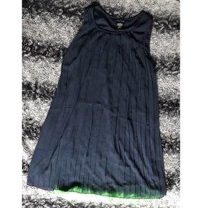 Paper doll Girls 16 Blue & Green Layered Dress